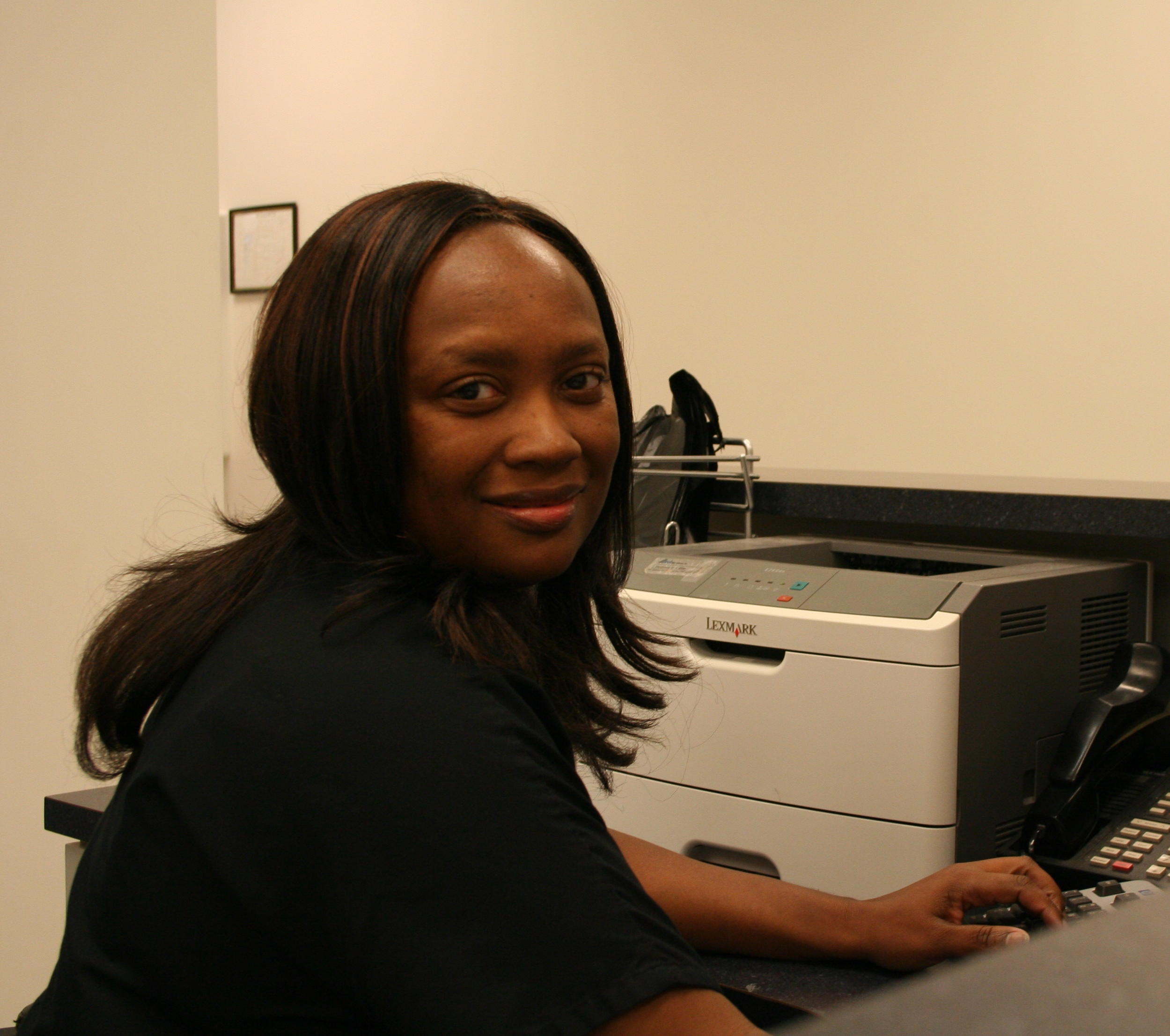 Charlene Thomas : Assistant Office Manager; Accounting